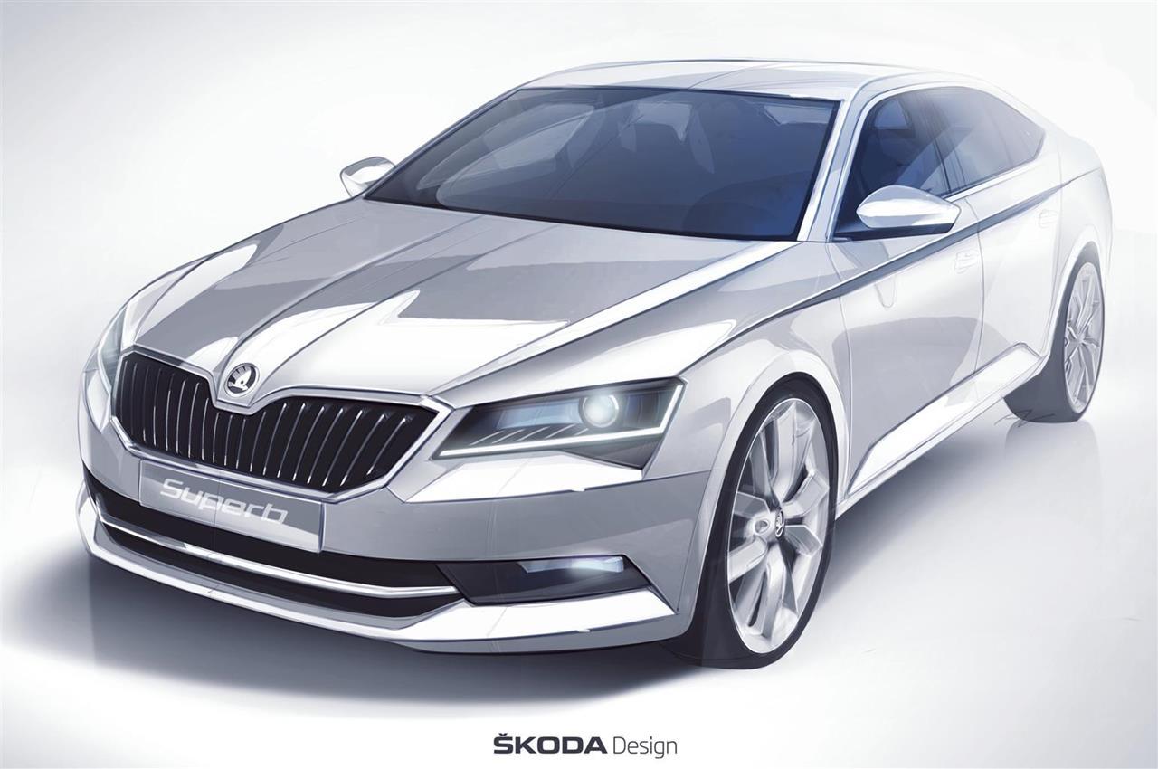 SKODA Superb: stile innovativo per la Casa ceca - image 002296-000021820 on http://auto.motori.net