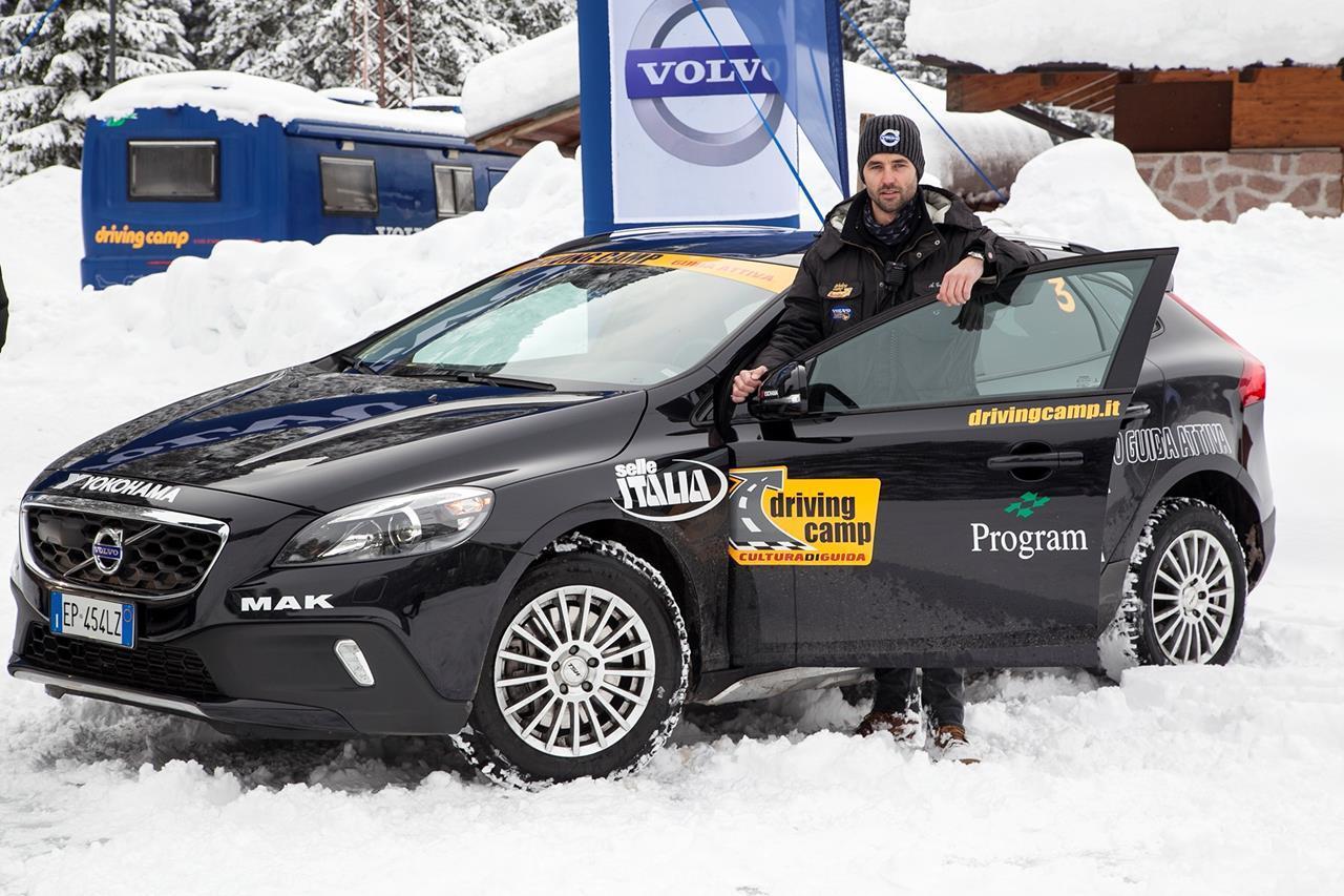 Volvo torna in Val di Fassa per l'edizione invernale 2015 del Volvo Cross Country Camp - image 003407-000032412 on http://auto.motori.net