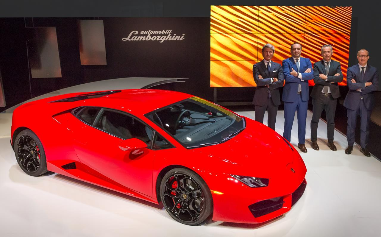 Lamborghini presenta la sua ultima supersportiva a Los Angeles - image 014408-000130978 on http://auto.motori.net