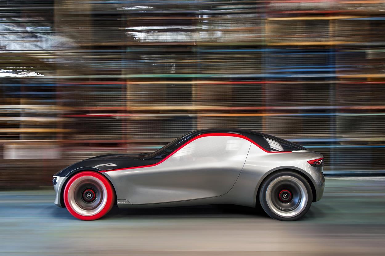Hankook rossi per la Opel GT Concept - image 021730-000203126 on http://auto.motori.net