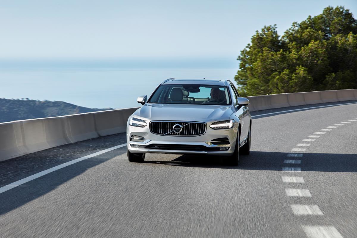 La Volvo S90 e V90: massimi punteggi Euro NCAP per la sicurezza nel test - image 022227-000206109 on http://auto.motori.net