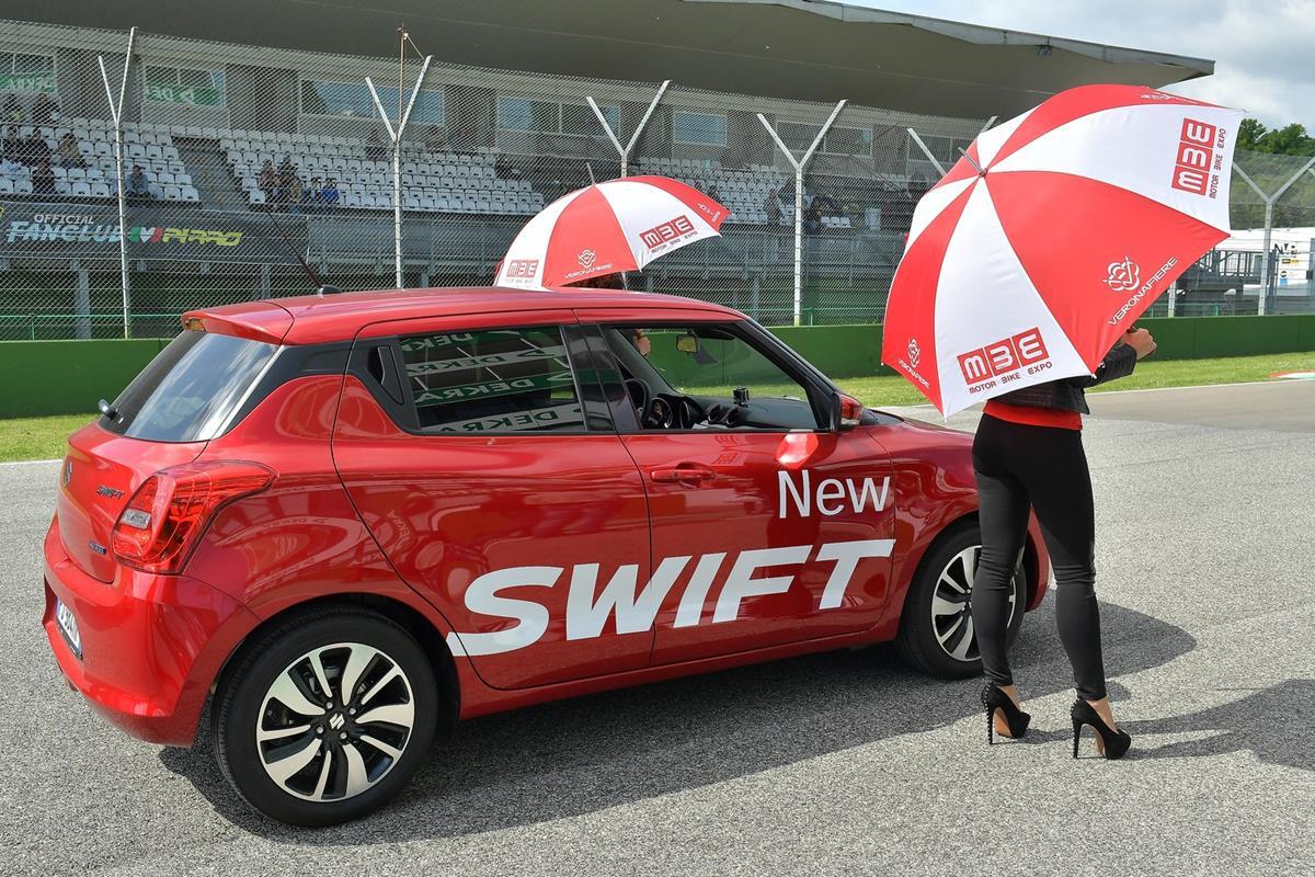 Suzuki New SWIFT è l'Auto Ufficiale del CIV 2017 - image 022401-000207026 on http://auto.motori.net