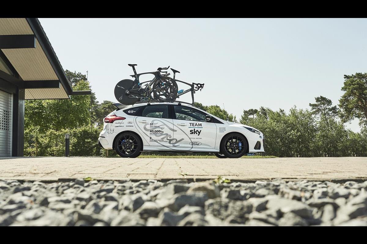 La nuova Ford Focus RS Track Edition - Team Sky - image 022517-000207847 on http://auto.motori.net