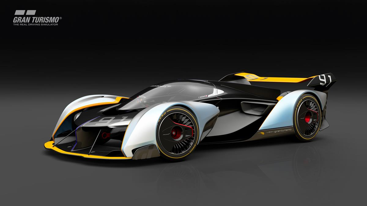McLaren: Ultimate Vision Gran Turismo disponibile su PlayStation 4 - image 1 on http://auto.motori.net