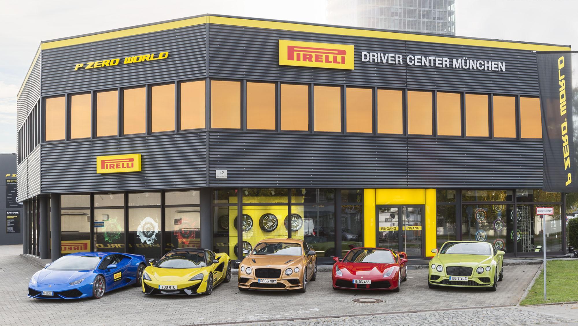 Pirelli apre a Monaco il suo primo PZero Word europeo