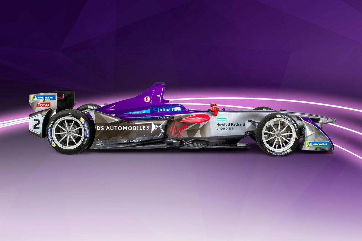 DS Virgin Racing presenta la nuova monoposto di Formula E