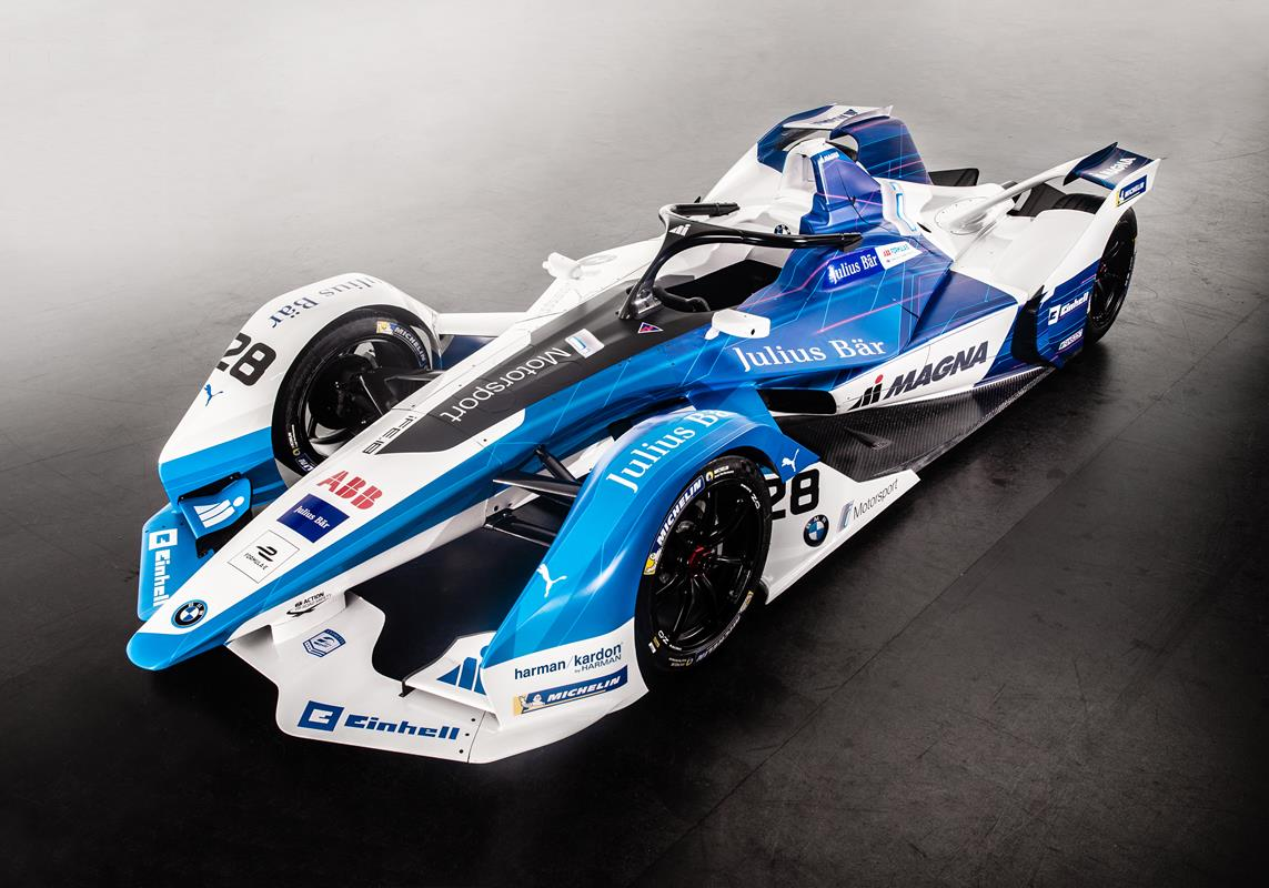 Nissan Intelligent Mobility all'e-Village della Formula-E - image Andretti-BMW on http://auto.motori.net