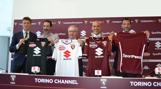 Suzuki ancora sponsor Torino Football Club - image rinnovo-torino-fc-1-660x365 on http://auto.motori.net