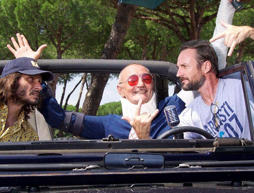 In omaggio a Batman - image Da-sx_Francesco-Cabras_Lele-Vannoli_Alberto-Molinari-840x638 on http://auto.motori.net