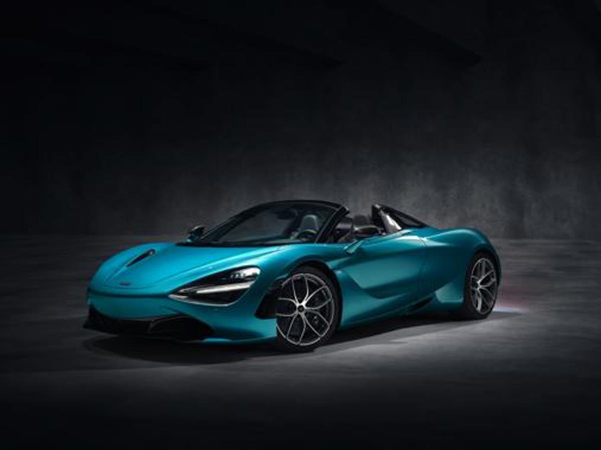 McLaren accende i riflettori sulle supercar - image mclaren_720s_spider_dec_2018_studio_image_01 on http://auto.motori.net