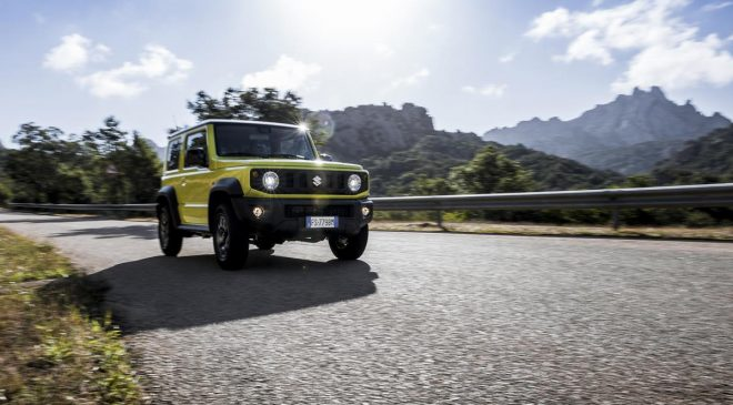Suzuki Jimny vince il World Urban Car 2019