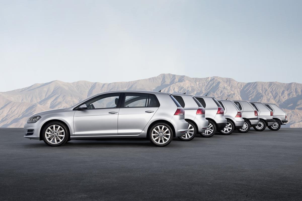 VW Golf compie 45 anni - image Golf-VII on http://auto.motori.net
