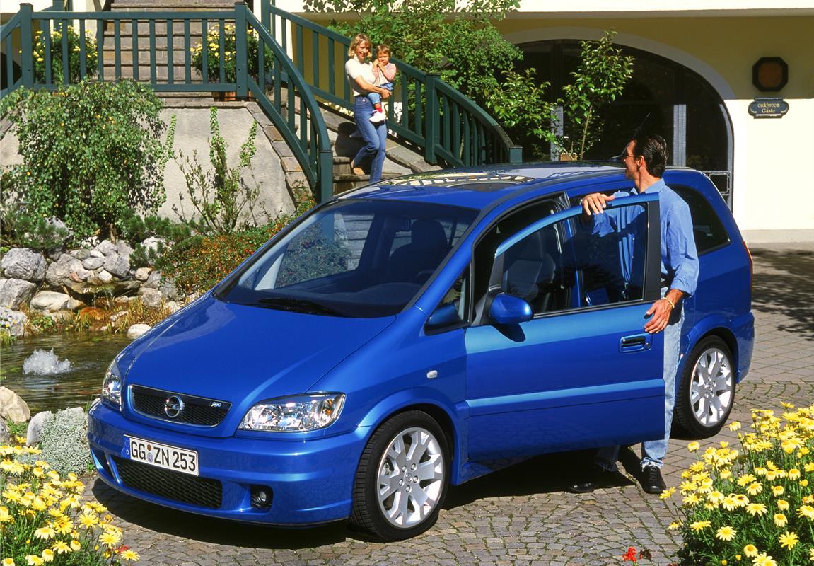 Opel Zafira compie 20 anni - image Zafira-OPC-4 on http://auto.motori.net