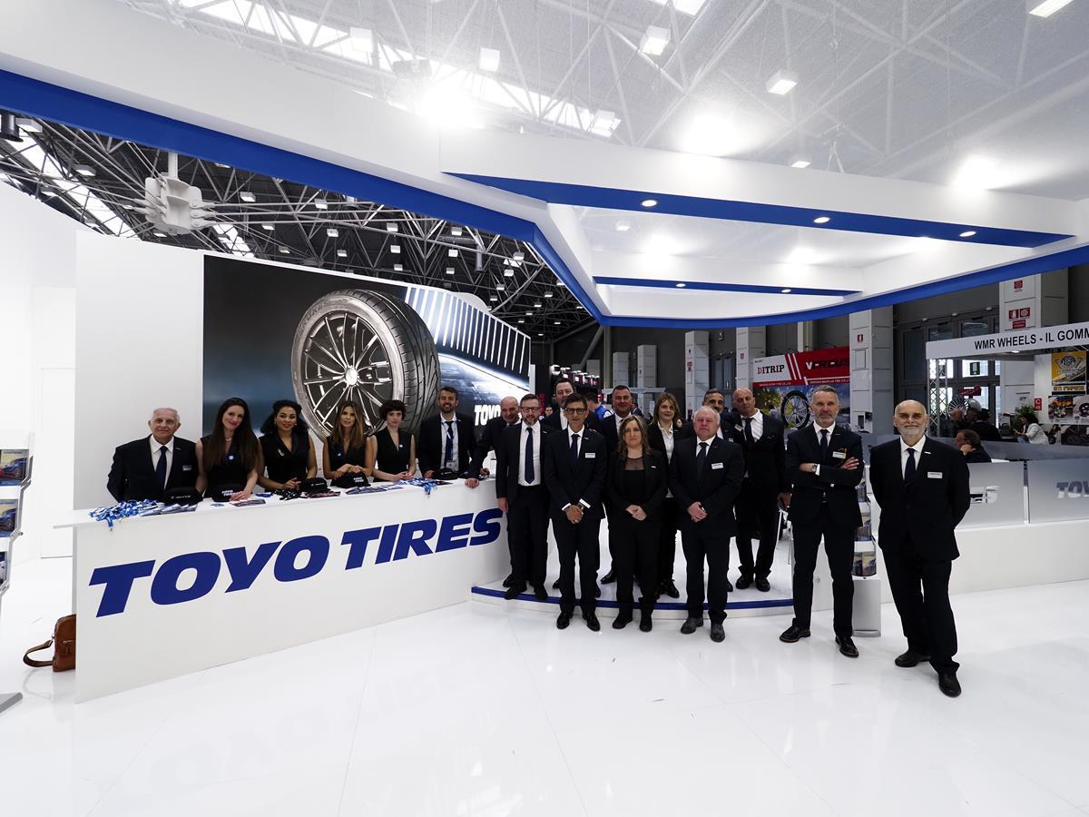 Anteprime Toyo Tires ad Autopromotec 2019 - image Toyo-Tires-Autopromotec-2019-4 on http://auto.motori.net