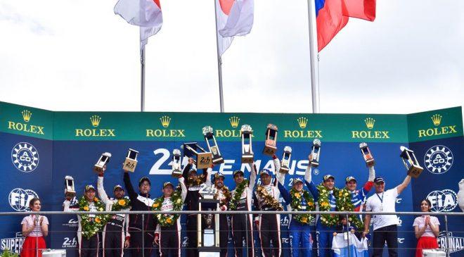"""""""En plein"""" Sabelt alla 24 Ore di Le Mans"""