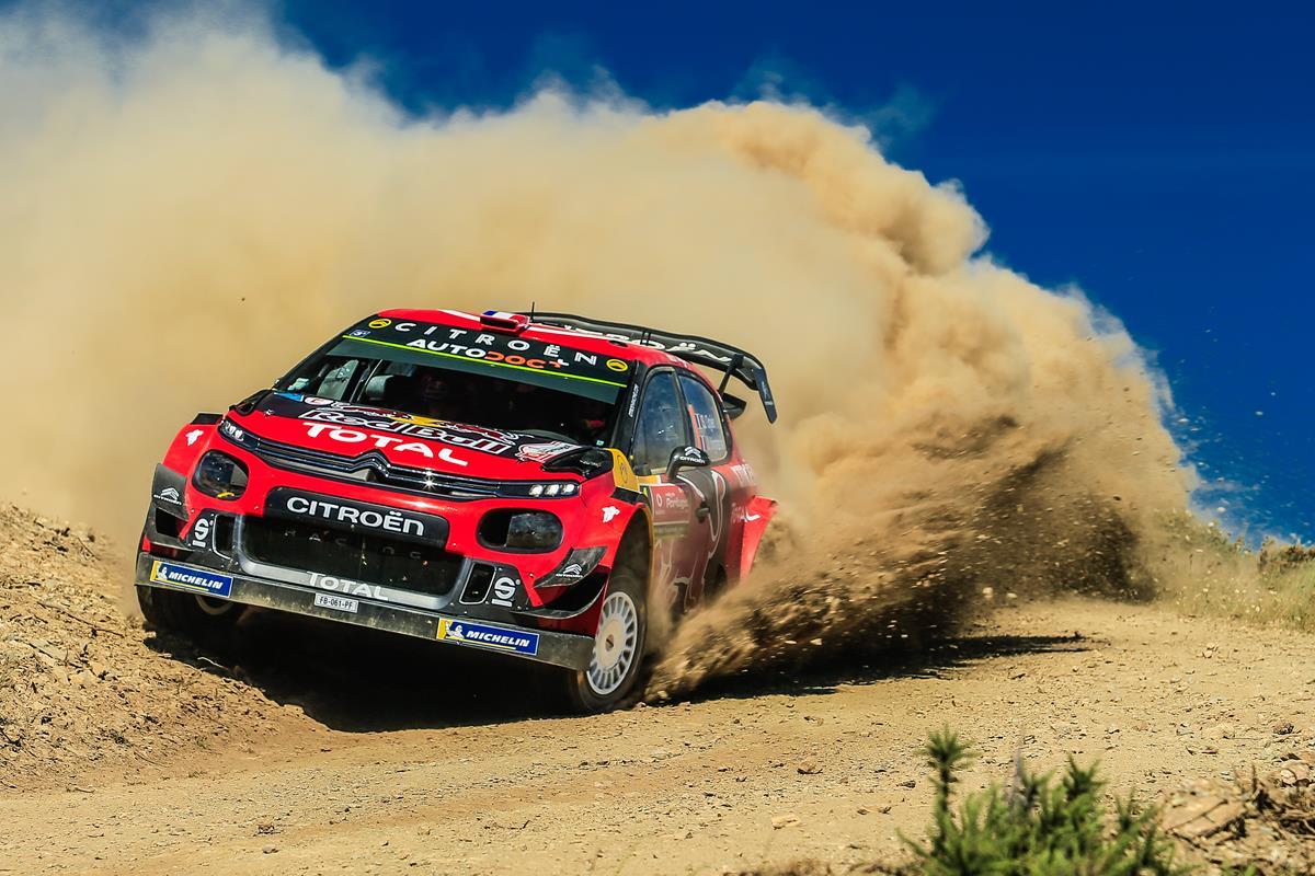 Il WRC in Sardegna - image OGIER on http://auto.motori.net