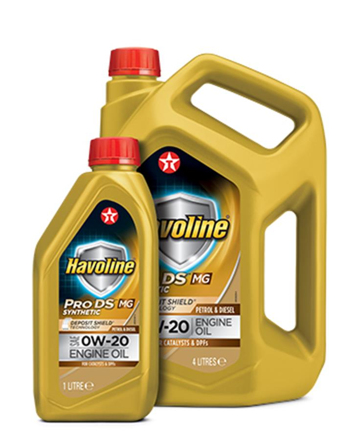 Vernice ChipEx, per ritocchi in 30 secondi - image Texaco_Havoline_ProDS_MG_0W-201L4L on http://auto.motori.net
