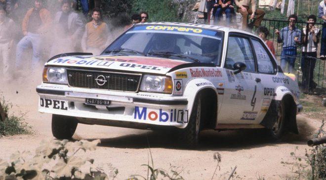 Opel Italia, gli anni dei rally
