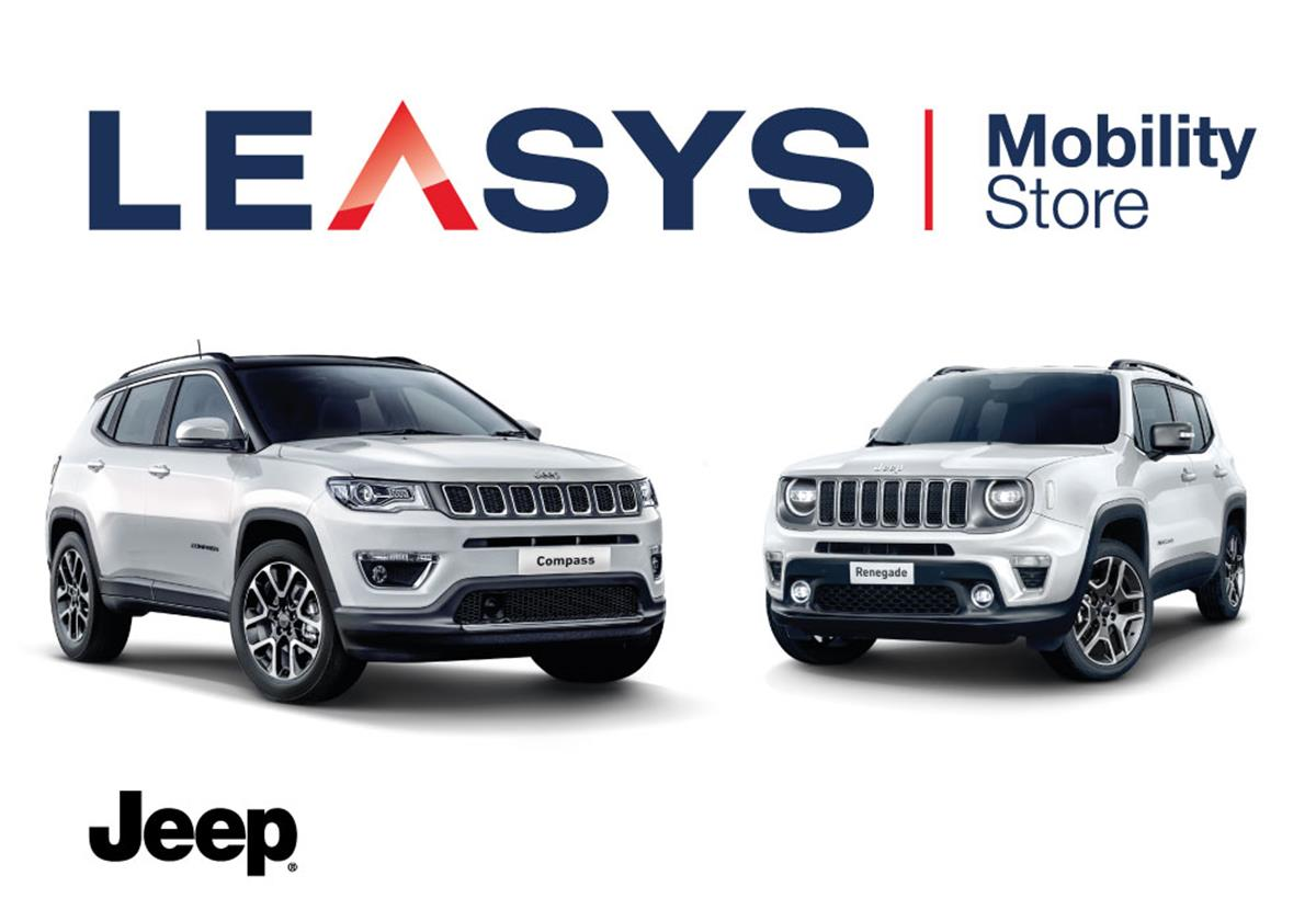 Con Leasys per un'estate da Jeep - image Leasys_Unestate-con-Jeep-1 on http://auto.motori.net