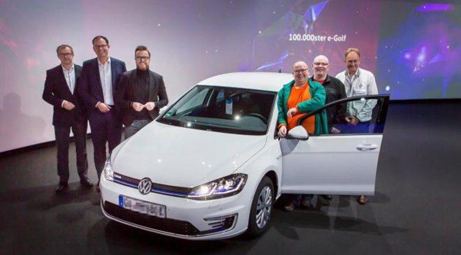 Consegnata la Volkswagen e-Golf numero 100.000
