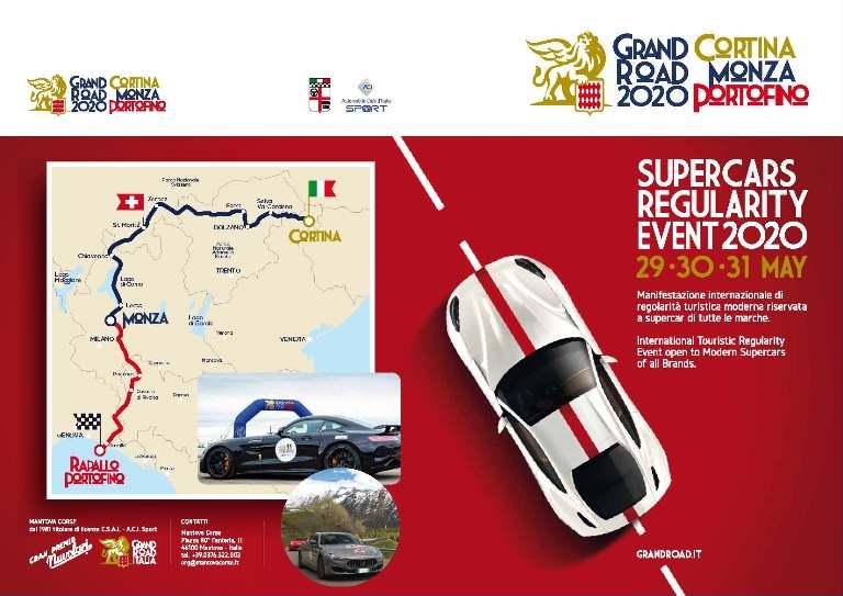 Grand Road Italia: Cortina-Monza-Portofino - image GRI-2020- on http://auto.motori.net