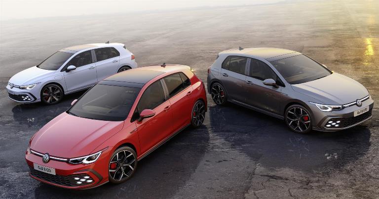 Volkswagen digitalizza le sue iconiche sportive - image Golf-8-GTI-GTE-GTD on http://auto.motori.net