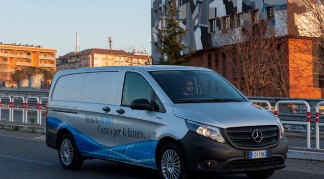 Mercedes eVito, per lavorare nei centri urbani