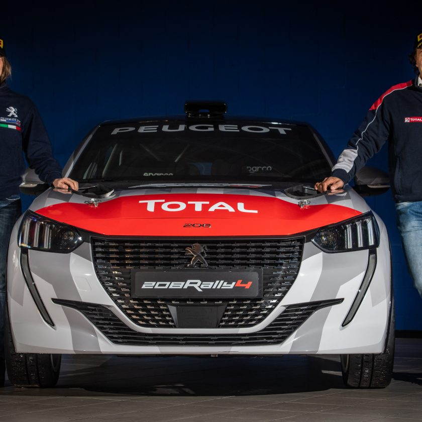 Safety tour BestDrive 2018 - image Peugeot-208-Rally-4-con-Paolo-e-Anna-840x840 on http://auto.motori.net