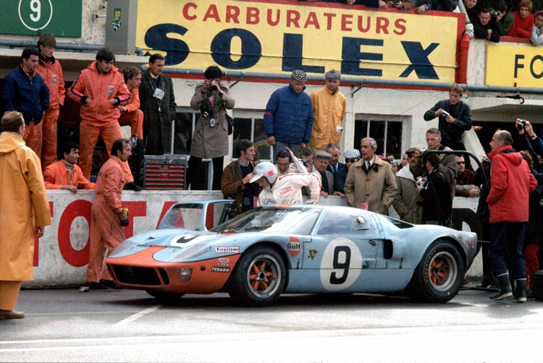 Le pellicole magiche del car wrapping - image 1968-Ford-GT40 on http://auto.motori.net