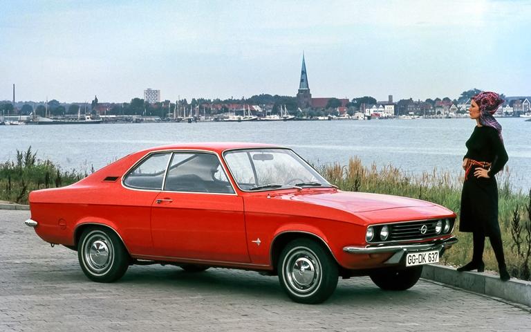 100 anni Suzuki: tradizione e innovazione - image 1971-Opel-Manta on http://auto.motori.net