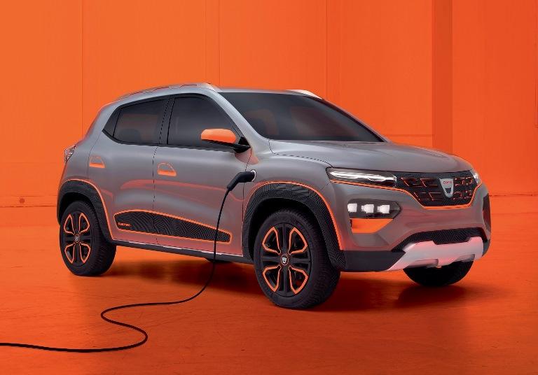 Si chiama e:Progress il primo servizio commerciale di gestione dell'energia con tariffe flessibili per auto elettriche - image Dacia-SPRINGr on http://auto.motori.net