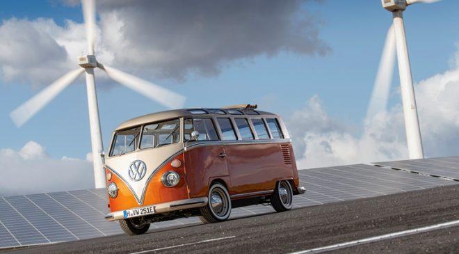 Nuovo e-Bulli: icona fra le auto d'epoca, propulsione elettrica
