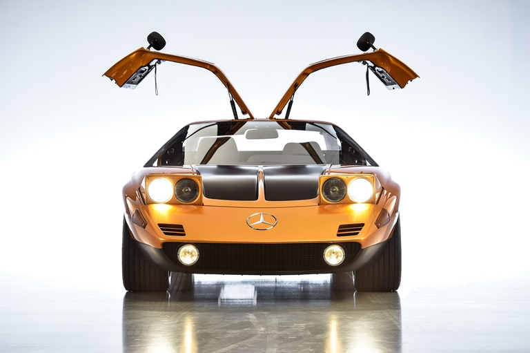 A volte bastano tre lettere per scrivere la storia - image Mercedes-C111 on http://auto.motori.net