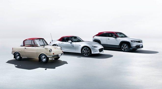 Gamma speciale Mazda per il 100esimo anniversario