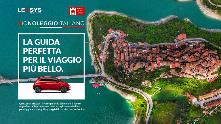 Veicoli storici: il Ministero dice sì alla conservazione dei documenti originali - image Leasys-Borghi-dItalia on http://auto.motori.net