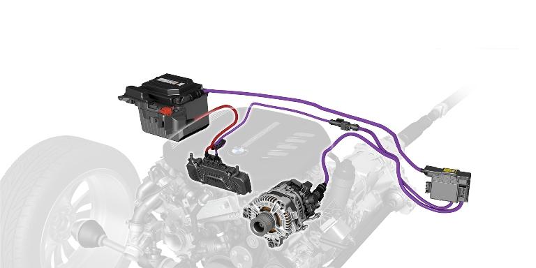 Nuova tecnologia Mild Hybrid per BMW Serie 3. - image bmw-48-v-mild-hybrid on http://auto.motori.net
