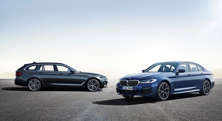 Sarà anche plug-in la nuova BMW Serie 5 - image bmw-530e-xdr on http://auto.motori.net