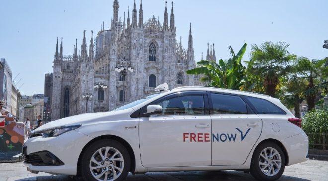Si muovono così gli italiani a bordo dei taxi Free Now