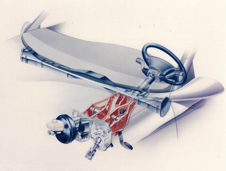 Sicurezza in primo piano: 25 anni fa Opel Vectra precorse i tempi - image Pedaliera-sganciabile-PRS on http://auto.motori.net