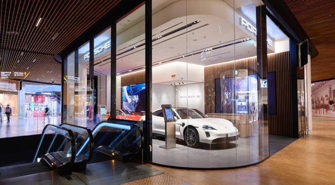 Un nuovo concetto di spazio Porsche
