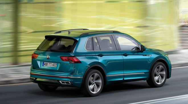 Nuova fase evolutiva di VW Tiguan