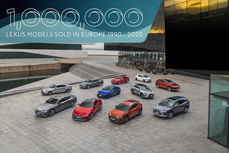 Un milione di volte Lexus in Europa - image 1mlexusineuropev3 on http://auto.motori.net