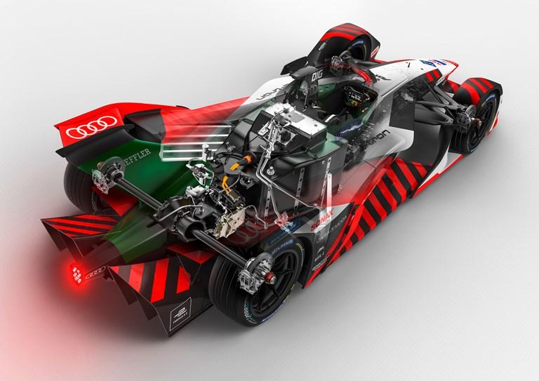 """Un """"cuore"""" ad alta efficienza per la Formula E - image Audi-e-tron-FE07_0012 on http://auto.motori.net"""