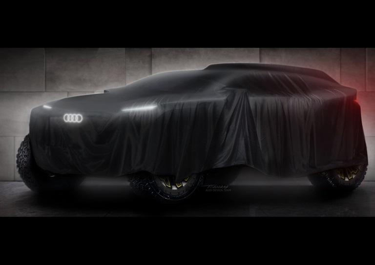 Audi alla Dakar 2022 con il team Q Motorsport - image Audi-proto-Dakar on http://auto.motori.net