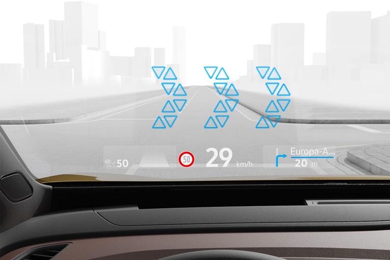 Toyota Verso-S: l'altro lato della versatilità - image Head-up-display on http://auto.motori.net