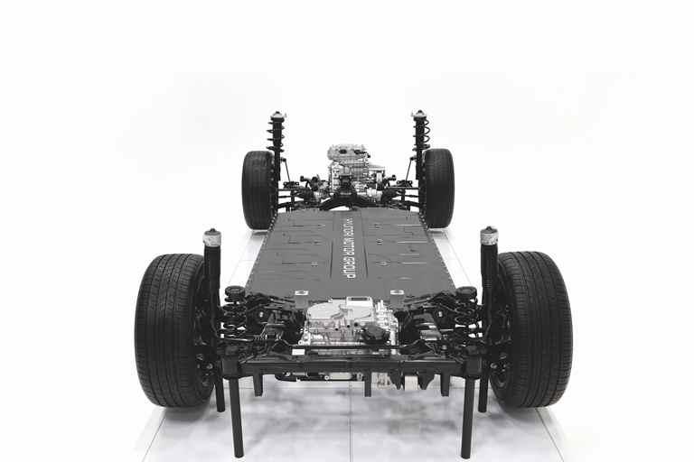 Con la piattaforma E-GMP comincia l'era elettrica di Hyundai - image Kia-_-EGMP on http://auto.motori.net