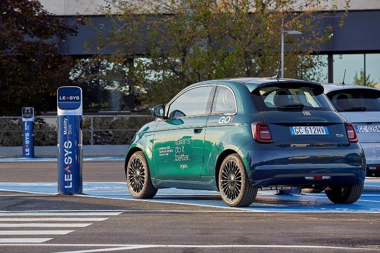 La Mustang torna in Europa con la Mach-E a zero emissioni - image LeasysGo on http://auto.motori.net