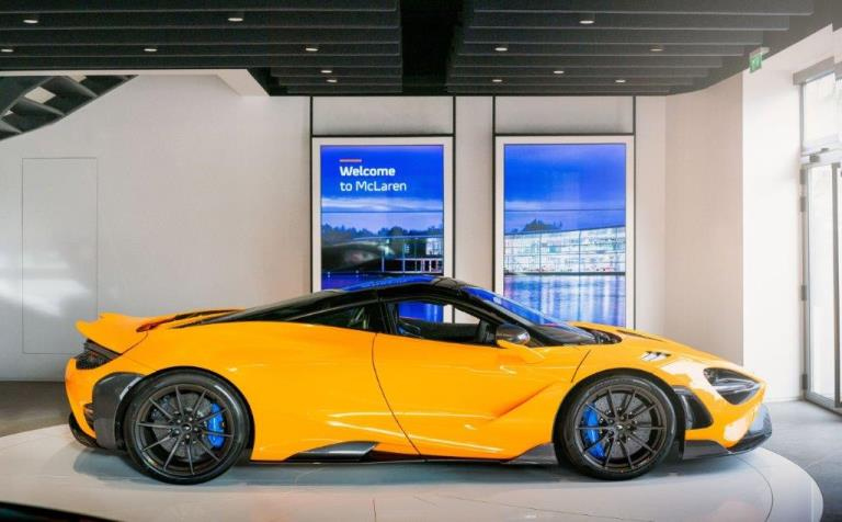 "Perché Nissan dice no al ""tablet"" - image McLaren-765LT on http://auto.motori.net"