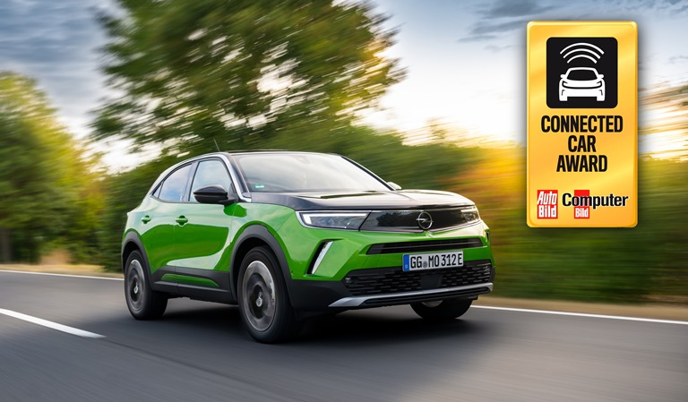 Opel Mokka-e vince il Connected Car Award - image Opel-Mokka-e- on http://auto.motori.net