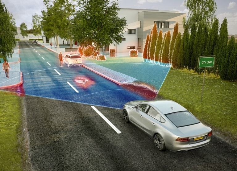 Ford Ecosport: piacevole e versatile - image Continental_Radar_CityLimit on http://auto.motori.net